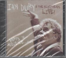 Ian Dury The Blockheads Live Warts N Audience Plus CD NEU Wake Up And Make Love