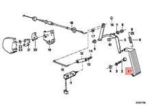 Genuine BMW M3 E30 316 316i 318i 318is 320i Accelerator Pedal Assy 35411156488