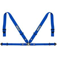 FIA SPARCO seat belts 04716M1 lightweight 4-point harness BLUE 8854 STOCK 21