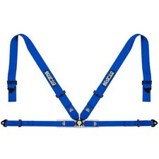 FIA SPARCO seat belts 04716M lightweight 4-point safety harness BLUE 8854