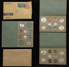 1948 DOUBLE P-D-S MINT SET ORIGINAL PKG & REGISTERED MAIL SLEEVE MINTAGE 6000