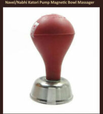 Navel/Nabhi/Katori/Bowl Solar Setter Pump Magnetic Bowl Massager Use Acupressure