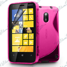 Housses Coque Etui Rose TPU S Silicone GEL Motif S Vague Films Nokia Lumia 620