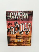 The Beatles The Cavern Club Reproduction Gig Advertisement Metal Sign Man Cave