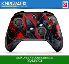 KNR9655 DEADPOOL 2 PREMIUM XBOX ONE S & X CONTROLLER SKIN STICKER