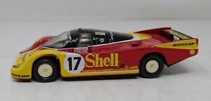"""1/43 Onyx Model Cars 1988 Porsche 962-C """"Dunlop"""" LeMans #17 Bell Ludwig Stuck"""