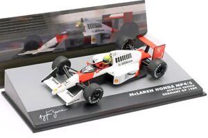 Ayrton Senna Mclaren MP4/5 #1 Germany Gp Formula 1 1989 1:43 Altaya