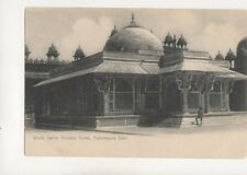Sheik Selim Christis Tomb Futtehpore Sikri India Vintage U/B Postcard 353b