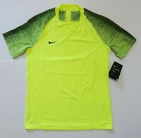 Nike Vaporknit II Soccer Jersey Volt NWT AQ2674-702 Men's Size Medium
