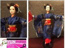 OOAK Geisha Maiko barbie Doll - Handmade Collector ~Japanese Culture Collectible