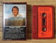 RARE• Robert White~Danny Boy & Other Irish Favourites •1979, cassette tape album