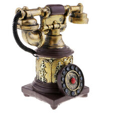 Weinlese Antike Drehtelefon schnurgebundene Retro Telefon