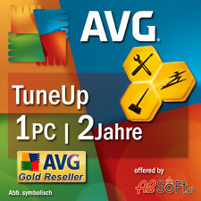 AVG TuneUp Utilities 2017 1 PC 2 Jahre Vollversion PC TuneUp DE EU Tune Up NEU