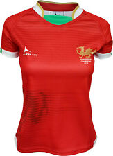 Olorun Wales Grand Slam 2019 Contour Home Nations Ladies Home Rugby Shirt 8 - 22