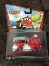 Sealed 2010 Mattel Pixar Disney Cars RED THE FIRETRUCK deluxe you figure 🚒🚒