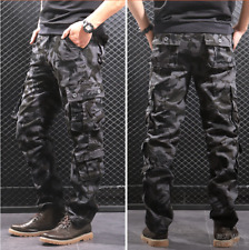 New Men's pants cotton loose Outdoor Military Training casual sports Cargo Pants
