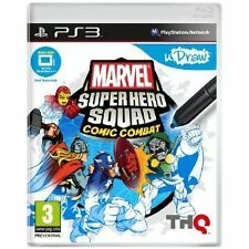 Ps3 jeu marvel super hero squad comic combat udraw (obligatoire) NEUF