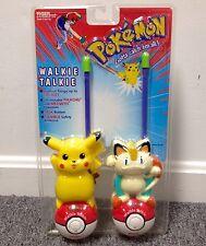 NOS SEALED Pokemon Walkie Talkies NEW By Nintendo /Tiger 1999 Game Event Vintage