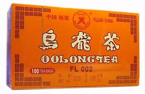 1 Box of Butterfly Oolong Tea 100 Tea Bags Fujian Wu long Slimming Aid Diet