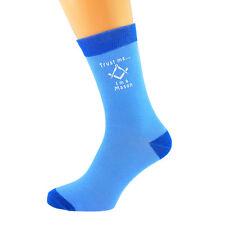 Dos Tonos Azul Calcetines Unisex confía en mí... yo soy un Mason UK Size 5-12 X6N632