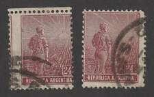 D2053: Argentina #198 Printing Error Shift; Look!