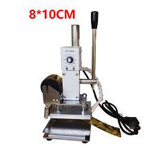 Manual Hot Foil Stamping Machine Leather Plastic Bronzing machine+Frame 110V Y