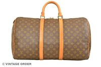 Louis Vuitton Monogram Keepall 50 Travel Bag M41426 - YG01245