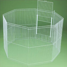 Ware Clean Living 8-Panel Ferret, Rabbit, Guinea Pig, Chinchilla Playpen Cage.
