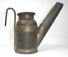 Antique C. George, Hazelton, PA  Mining Lamp ~ Vintage Miner's Oil Lamp