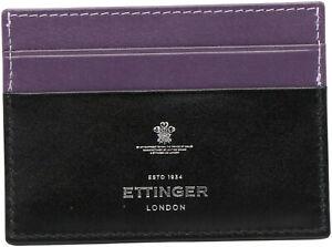 Ettinger Men's Credit Card Case Leather Wallet