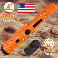 Fully Waterproof Pinpoint Metal Detector Pinpointer 360° Search Treasure Finder