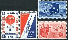 Air Mail Issues of 1959 Complete Set of 4 MNH Scott's C53 C54 C55 & C56