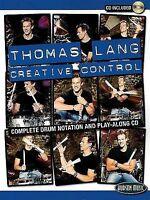NEW Thomas Lang Creative Control Book/CD by Thomas Lang