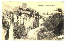 CPA 38 Isère Crémieu Gorge de Tortu