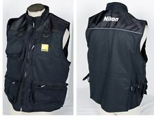 Nikon Photo Vest Official Jacket multi-pocket Size XL XXL D3300 Df D610 Body NEW
