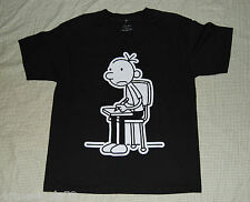 Boys tee shirt DIARY OF A WIMPY KID XS 4-5 Black