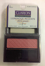 CLARION LUMINOUS ACCENTS DEMI BLUSH ( PLUM CHIFFON )  .14 oz NEW.