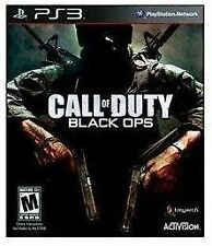 CALL OF DUTY BLACK OPS Game for Sony Playstation 3 PS3 Rated-M Mature 17+ 2010