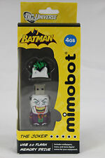 BRAND NEW Mimobot The Joker 4GB USB 2.0 Flash/Jump Drive With Digital Extras