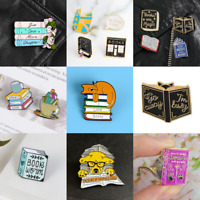 Pin Brooches Book Witch Backpack Cute Goth Badges Different Hard enamel lapel