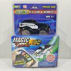 Magic Tracks Light Up R/C Car & Remote W/ Sound Police Car, Ages 3+