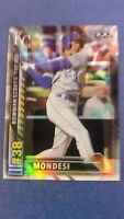 RAUL MONDESI 2016 BOWMAN CHROME SCOUTS PROSPECT #38 ROYALS ( ROOKIE REFRACTOR )