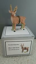 Deer PHB Porcelain Hinged Box by Midwest of Cannon Falls Ear Of Corn