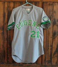 >Rare 1980's Kansas City Royals EUGENE EMERALDS BASEBALL UNIFORM JERSEY!!