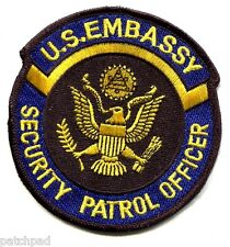 Diplomatic Security DSS: US Embassy Security Patrol Protective Service Officer