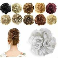 AU Curly Messy Bun Hair Piece Scrunchie Updo Cover Hair Extensions Hot Wig Hair