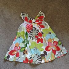 Sun Top Age 5 Next used floral tropical print