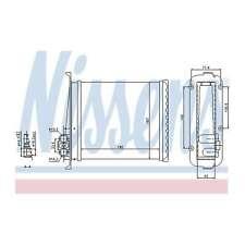 Fits Volvo V70 MK1 2.5 TDI Genuine Nissens Heat Exchanger Interior Heater Matrix