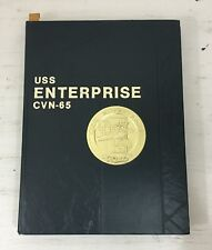 USS ENTERPRISE CVN-65 WESTPAC DEPLOYMENT CRUISE BOOK YEAR LOG 1982-83 NAVY SHIP