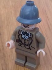 Lego Indiana Jones minifigure  - Henry Jones Sr - Sean Connery  - free postage